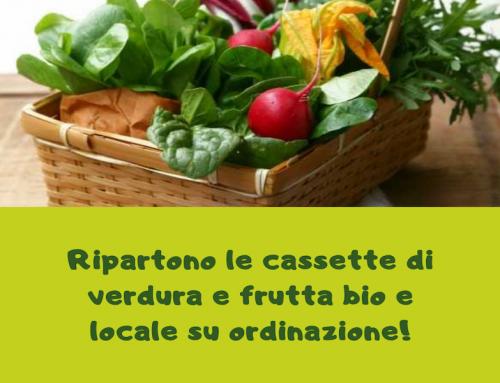 Cassetta di verdura e frutta su ordinazione