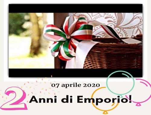 7 APRILE 2020 : 2 ANNI DI EMPORIO!